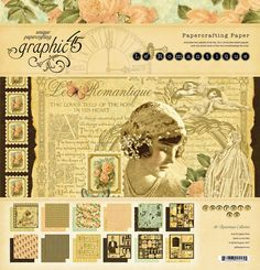 Le Romantique - another stunning retired Graphic 45 collection.