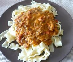 Rezept Linsenbolognese mit Pasta von esthi76 - Rezept der Kategorie Hauptgerichte mit Fleisch
