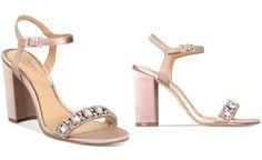JEWEL By Badgley Mischka Hendricks Block-Heel Evening Sandals - Evening & Bridal - Shoes - Macy's