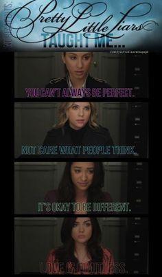 Spencer, Hanna, Emily, Aria <3
