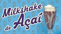 MilkShake de Açaí
