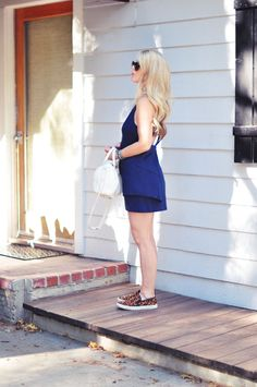 cute dress with leopard sneakers ad #TargetStyle #FIF #TargetsGoneGLam