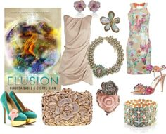 Elusion - http://myfashionobsessedlookbook.blogspot.com/2013/11/book-looks-6-elusion-by-claudia-gabel.html