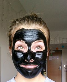 Black out pore treatment!! | beYOUtiful Ingredients: Activated charcoal in capsule form (take after a long night out too, Activated charcoal actually absorbs toxins in your body!!) Coconut Oil Water/Green tea powder Add one capsule, or if you get straight up powder just a teaspoon in a bowl with any type of oil and water exfoliate and steam my face before, Take your black paste and slowly rub it onto your face, really rub it onto you skin.