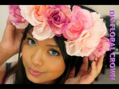 DIY | How to make a statement Floral Crown (Lana Del Rey Inspired)