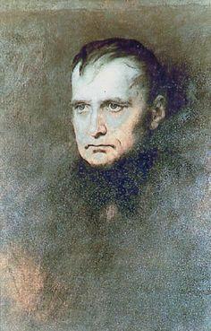 Napoléon Bonaparte (1769-1821), en exil à Sainte-Hélène par James Sant
