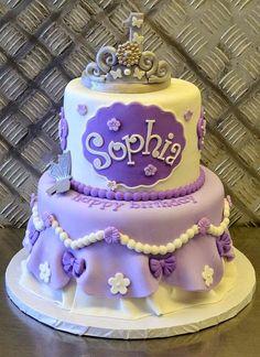 Childrens Birthday Cakes Sophia the first Childrens Birthday