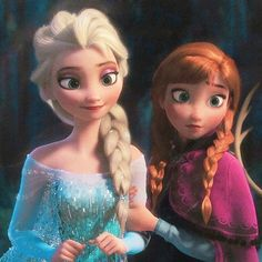Disney Frozen Anna and Elsa Elsa Frozen, Frozen Disney, Frozen And Tangled, Frozen 2013, Frozen Queen, Frozen Heart, Frozen Movie, Queen Elsa, Walt Disney