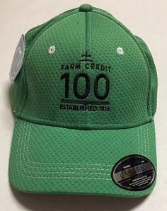 26bd60e9ae6 Details about Farm Credit 100 Hat Agriculture Farming Baseball Cap Farmer  Agricultural Lender