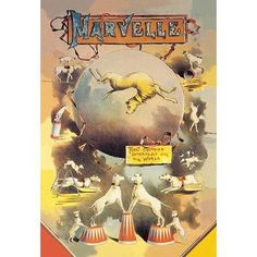 Buyenlarge 'Marvelle' Vintage Advertisement