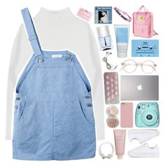 """HIT ME WITH YOUR SWEET LOVE STEAL ME WITH A KISS // MARIANA AND THE DIAMONDS"" by grunge-alien ❤ liked on Polyvore featuring Dion Lee, adidas Originals, Chantecaille, Polaroid, Samsung, CASSETTE, Stila, Korres and Nails Inc."