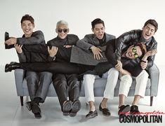 2014.09, Cosmopolitan, GOD, Son Ho Young, Park Joon Hyung, Danny Ahn, Yoon Kye Sang, Kim Tae Woo