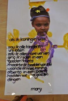 Als ik de Koning was. Thema Nederland. Koningsdag. Knutselen.