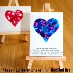 easy toddler fingerprint heart keepsake idea for valentines day or mothers day. Kids craft for toddlers, preschoolers, babies, eyfs day cards eyfs Fingerprint Heart Poem Keepsake Valentines Day Poems, Kinder Valentines, Mothers Day Poems, Mothers Day Crafts For Kids, Valentines Day Activities, Mothers Day Cards, Valentine Day Crafts, Diy Crafts For Kids, Fun Crafts