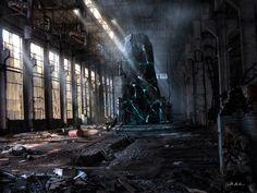 post apocalyptic city 07