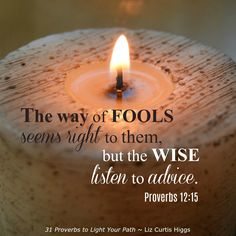 Chapter 9 ~ Fool's Gold ~ 31 Proverbs to Light Your Path