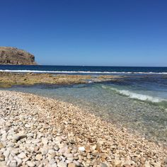My home. This is #javea #xabia in May. #paradise #beach #playa Javea Spain, Alicante Spain, Paradise, Landscape, World, Beach, Places, Water, Holiday