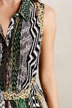 Silk Plains Shirtdress by Maeve