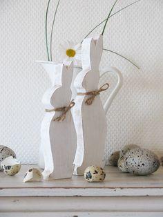 Ideal für den Ostertisch....    (Wunderschöner Blog mit Fotos und Erzählungen von Angelina)