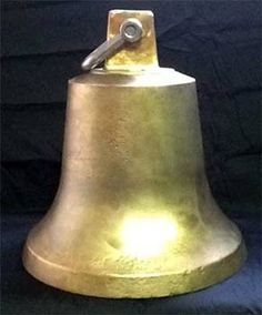 Bronze bell from a Miami, FL based freighter