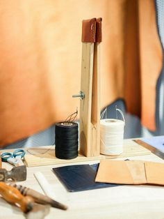 We took part in London Craft Week with demonstrations on making a handmade leather accessory Handmade Leather, Studios, London, How To Make, Crafts, Design, Studio, Crafting, Diy Crafts