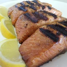 """Grilled Salmon I """"Simply the best salmon recipe we have EVER tried, and we eat a lot of salmon. Quick and easy."""""""