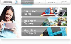 UI/UX Touchscreen Kiosk - Nintendo by Rene Armenta, via Behance