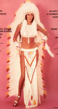 cher....half breed, that's all she ever heard