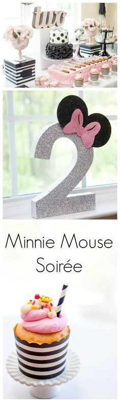 Minnie Mouse Party! Adorable and fresh Minnie ideas.