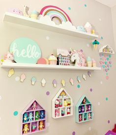 Unicorn 🦄 rainbow 🌈 ice cream cone 🍦 room