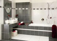 Obklady Silex šedo-černá Bathroom, Alcove Bathtub, Alcove