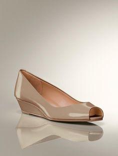 Talbots - Tiffi Peep-Toe Wedge | Heels | Medium