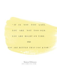 Monday's Meditation: On Being On Time For Life   Live Simply by Annie