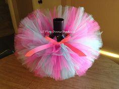 BIRTHDAY TUTU Pink and Blue Tutu Infant Tutu Tutus by LilPinkGoose, $25.95
