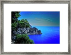 Coastial landdscape Framed Print by Roberto Pagani Framed Prints, Canvas Prints, Wall Art For Sale, Northern Italy, Hanging Wire, Clear Acrylic, Fine Art America, Travel Photography, Landscape