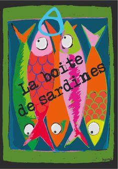 La boite de sardines - Les cubes