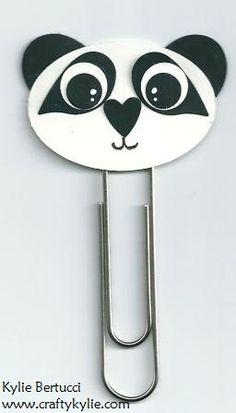 Panda Punch Art  Stampin' Up!