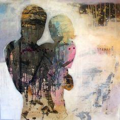 BESTEFAR OG JEG...BY ANNE-BRITT KRISTIANSEN #fineart #art #painting #kunst…