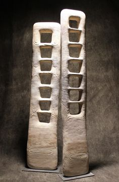 Thierry Martenon ~ Wood Sculpture 2013 (Frêne, Ash Wood)