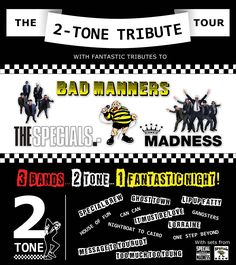 The 2-Tone Tribute Tour - Saturday 5 November - 7.30pm. More info: http://www.cityhallsalisbury.co.uk/index.php?page=1687