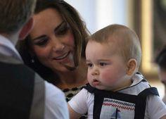 Príncipe George  na Nova Zelândia