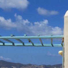 "Elegance , [br] [caption align=""aligncenter"" The View, Makria Miti, Paros[/caption] [caption align. Greek Decor, Hot Spots, Paros, Mediterranean Sea, Luxury Villa, Hotel Reviews, Caption, Ceiling Lights, Island"