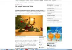 Nota sobre LOS AMIGUITOS DE ROLO PATRICIO y nuestro #crochet #amigurumi en Abc Digital