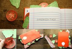 SANDWICH TAG is one of the most unique and awesome stationery tags you can ever find.