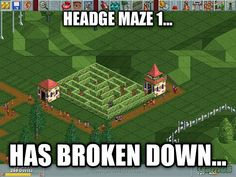 9 Best Childhood Computer/Video Games images   Roller coaster tycoon