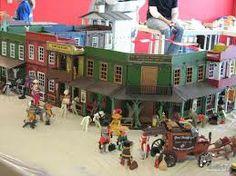 playmobil western - Google Search Westerns, Fun Stuff, Action Figures, Kindergarten, Buildings, Construction, Google Search, Toys, City