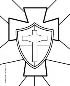 armour of god coloring page | Armour_of_God_maze.gif | craft ...