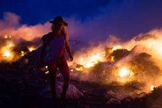 Eine junge Frau entdeckte eine ökologische Katastrophe, die sich fast unbemerkt abspielt