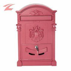 ZNL Schön Zeitungsboxen Mailbox Zeitungsrolle XBX02 Rot