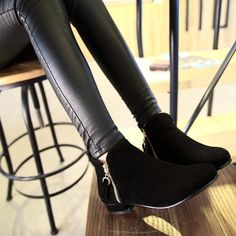715c9211 Fashionable city zip boots for the modern woman - Side zippers for style  and easy